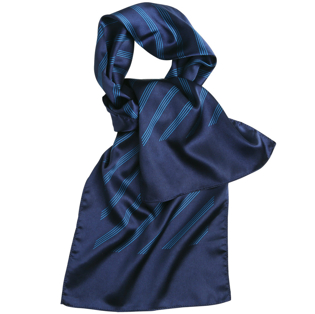Ladies Four Striped Scarf PR772 - Fashion At Work (UK) Ltd