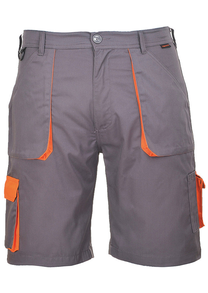 Contrast shorts (TX14) PW025 - Fashion At Work (UK) Ltd