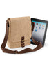 Vintage canvas iPad™/Tablet reporter QD624 Quadra