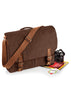 Vintage canvas satchel messenger QD625 Quadra