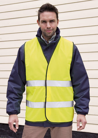 Core high viz winter softshell EN471 Class 2 R117A