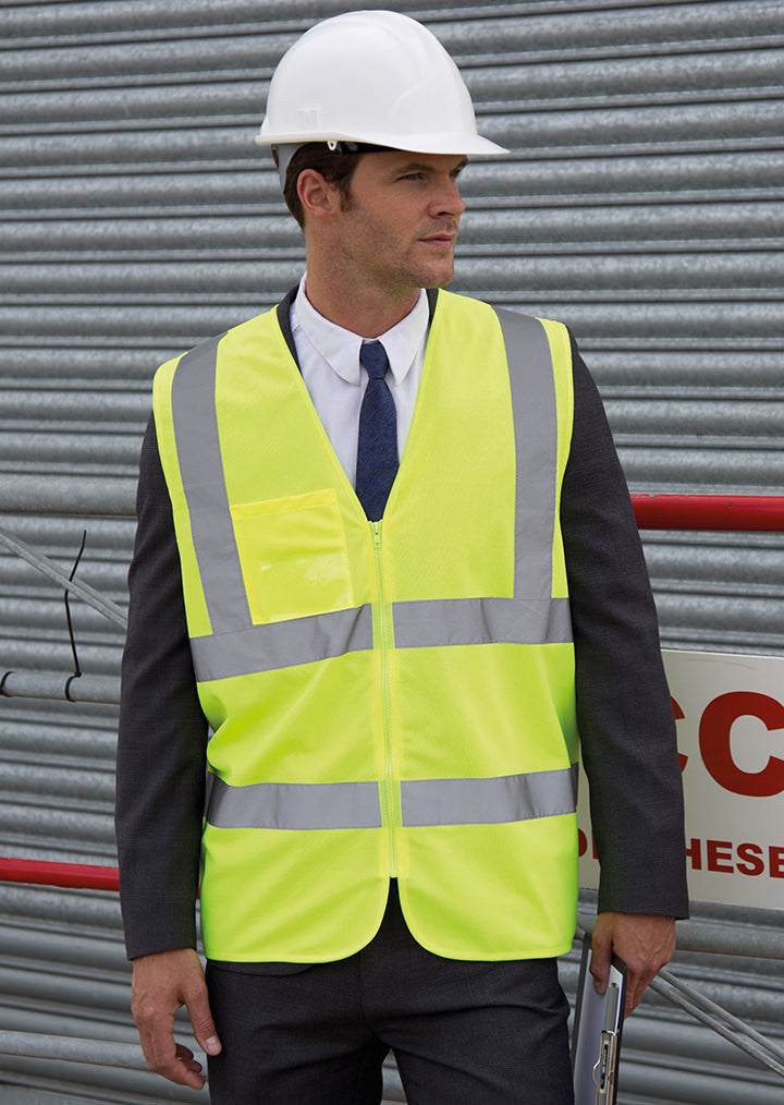 Core safety zip tabard R202X - Fashion At Work (UK) Ltd