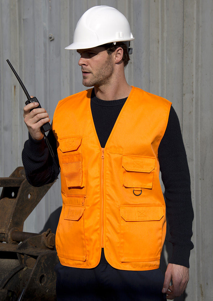 Adventure safari waistcoat RE45A Result Work-Guard - Fashion At Work (UK) Ltd
