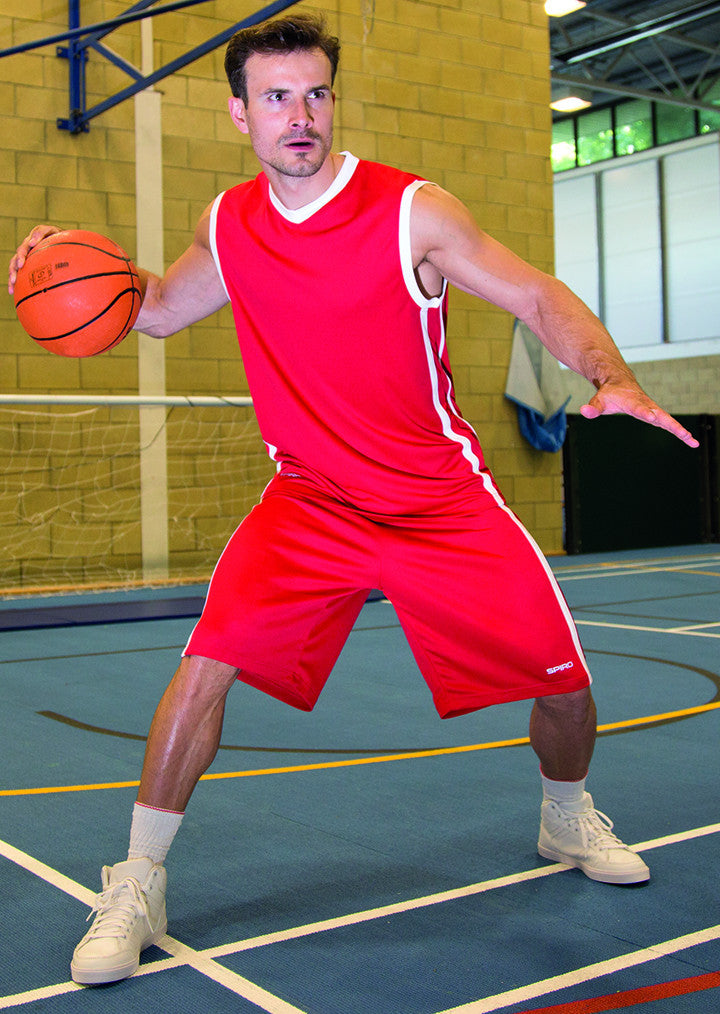 Basketball quick dry top S278M - Fashion At Work (UK) Ltd