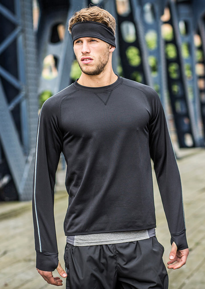 Crew neck running top TL650 - Fashion At Work (UK) Ltd