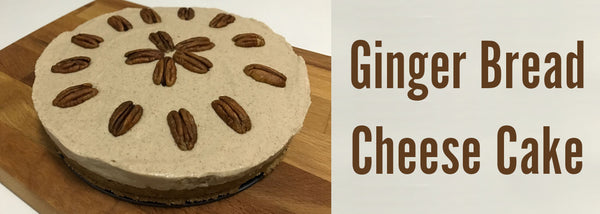 Gingerbread Pecan Cheesecake