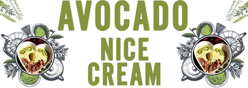 Avocado and Banana Nice Cream