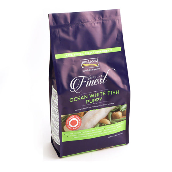 Finest Fish4Puppies Complete Puppy Food Large-Bite - Fairpet