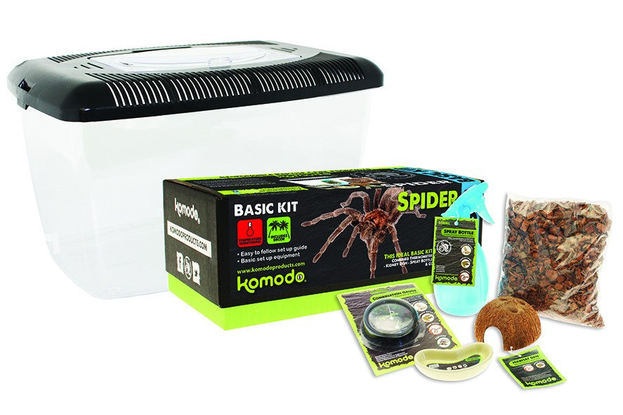 Komodo Basic Spider Kit - Fairpet