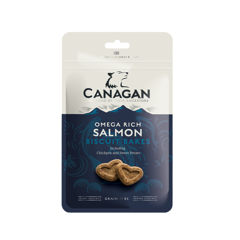 Canagan Salmon Treats 8 x 150g Bags