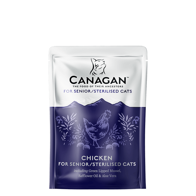 Canagan Wet Senior Chicken 8 X 85g Pouches - Fairpet