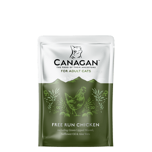 Canagan Wet Free Run Chicken 8 X 85g Pouches - Fairpet
