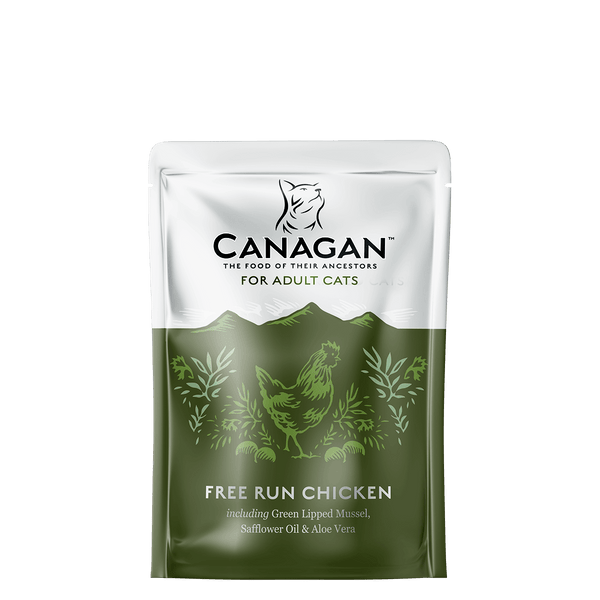 Canagan Free Run Chicken Cat Food 8 x 85g Wet Pouches