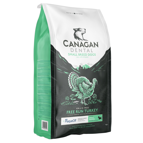 Canagan Free Run Turkey Dental Small Breed Dog Food