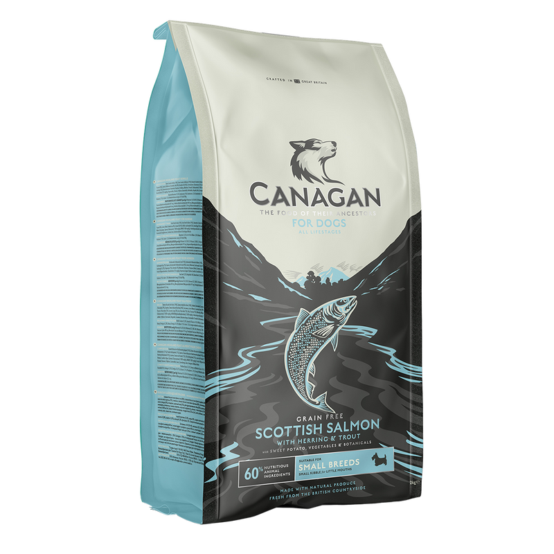 Canagan Scottish Salmon Small Breed Dog Food