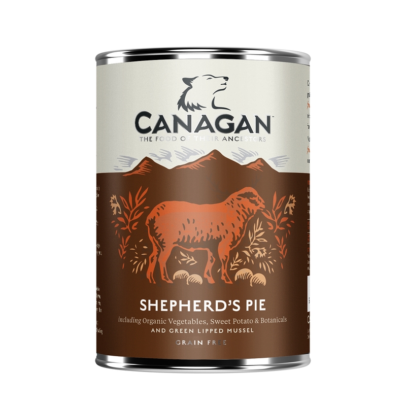 Canagan Shepherd's Pie Wet Dog Food 6 x 400g Cans