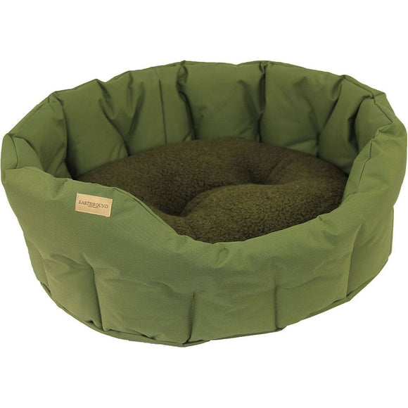 Earthbound Classic Round Waterproof Dog Bed