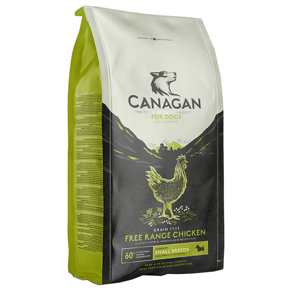 Canagan Free Range Chicken Small Breed Dog Food