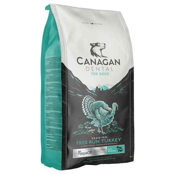 Canagan Free Run Turkey Dental Adult Dog Food