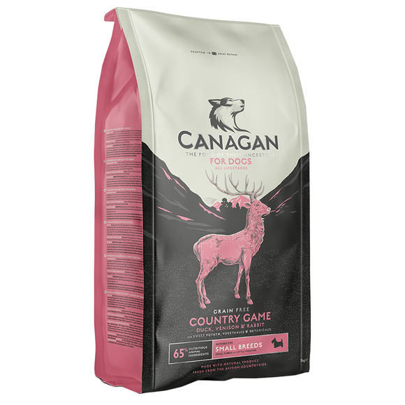 Canagan Country Game Small Breed Dog Food
