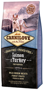 Carnilove Dog Food Puppy Salmon & Turkey