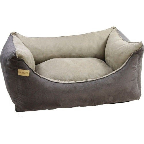 Earthbound Rectangular Faux Suede Dog Bed