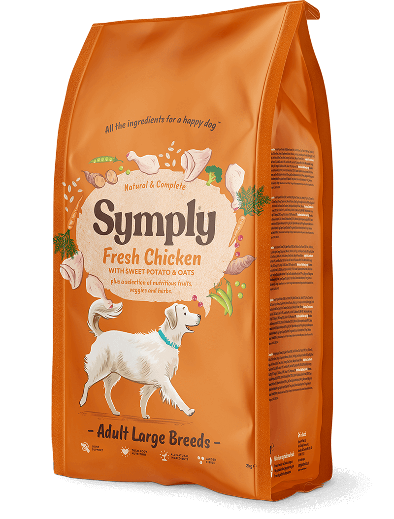 Symply Fresh Chicken Large Breed Adult Dog Food