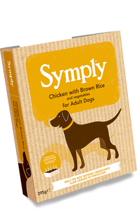 Symply Wet Dog Food Adult Chicken & Rice 7 x 395g - Fairpet