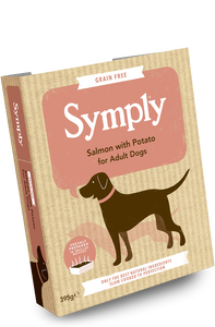 Symply Wet Dog Food Salmon and Potato for Adult Dogs 7 x 395g - Fairpet