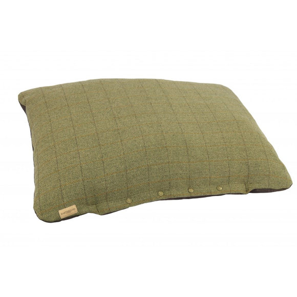 Earthbound Tweed Flat Cushion