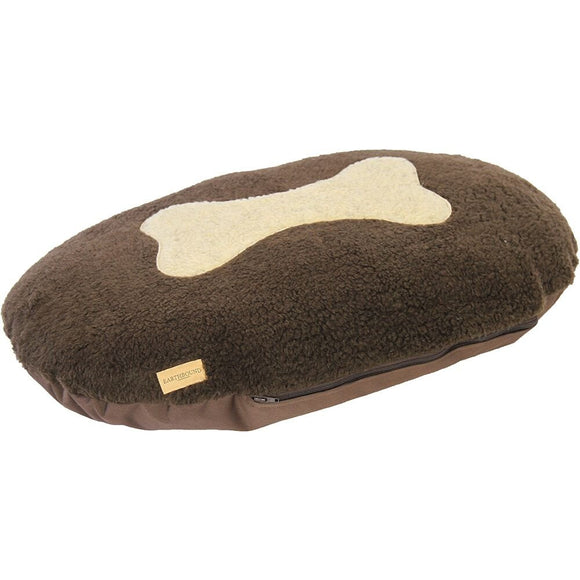 Earthbound Bone Oval Waterproof Cushion