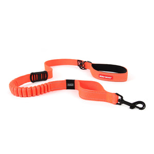 EzyDog Zero Shock Dog Lead 48inch Orange
