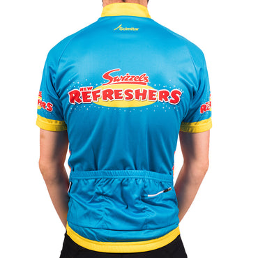 Refreshers Blue Men's Cycling Jersey