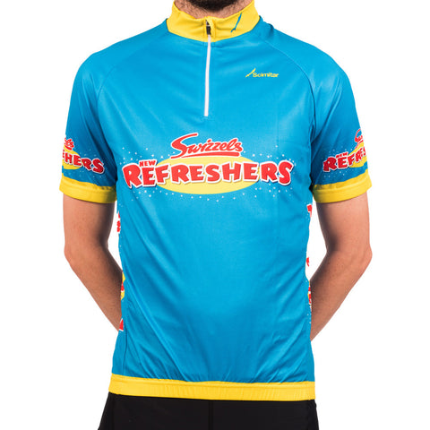 Refreshers Blue Cycling Jersey