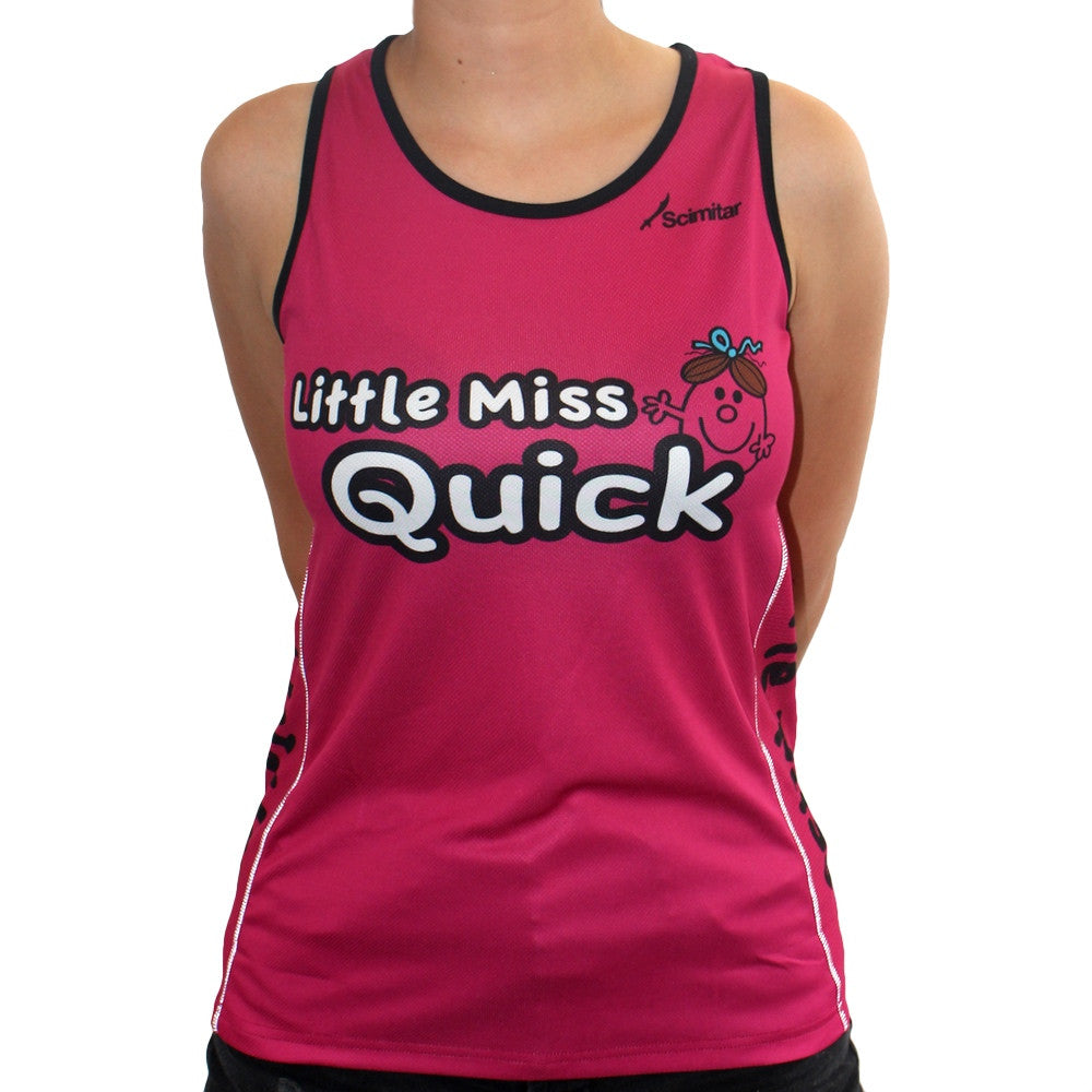 Little Miss Quick Women's Running Vest