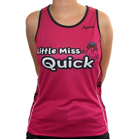 Little Miss Quick Running Vest