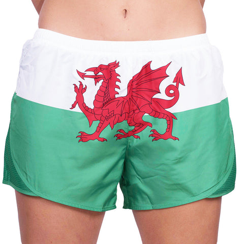 Wales Womens Running Shorts