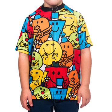 Boys Mr Men Cycling Jersey | Scimitar Shop | Mr Men & Little Miss