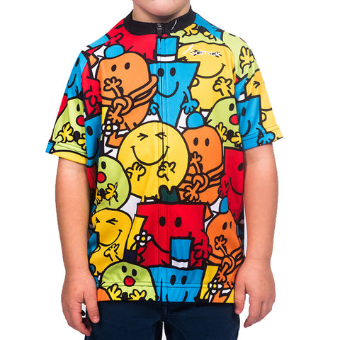 Boys Mr Men Cycling Jersey