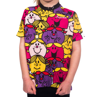 Girls Little Miss Cycling Jersey - Scimitar Shop