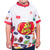 Kids White Jelly Belly Cycling Jersey