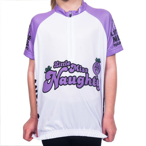 Kids Little Miss Naughty Cycling Jersey