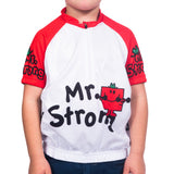 Kids Mr Strong Cycling Jersey