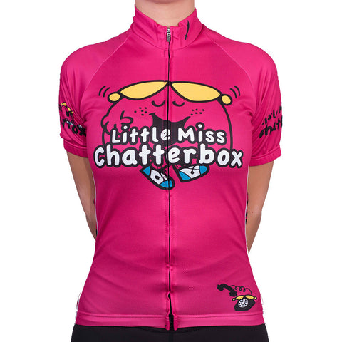 Little Miss Chatterbox Cycling Jersey