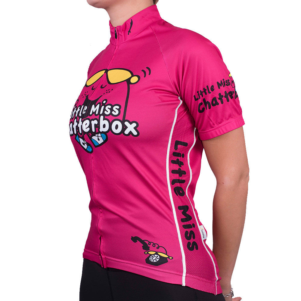 63cfc5bc3 Little Miss Chatterbox Women s Cycling Jersey