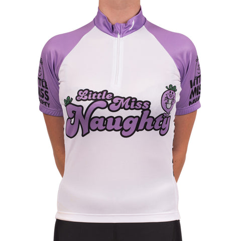 Little Miss Naughty Cycling Jersey