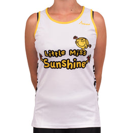 Little Miss Sunshine Running Vest