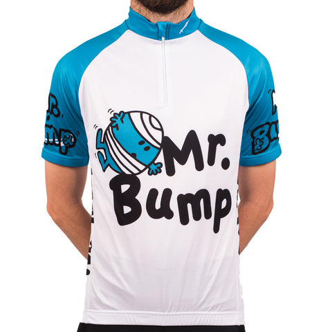 Mr Bump Retro Cycling Jersey