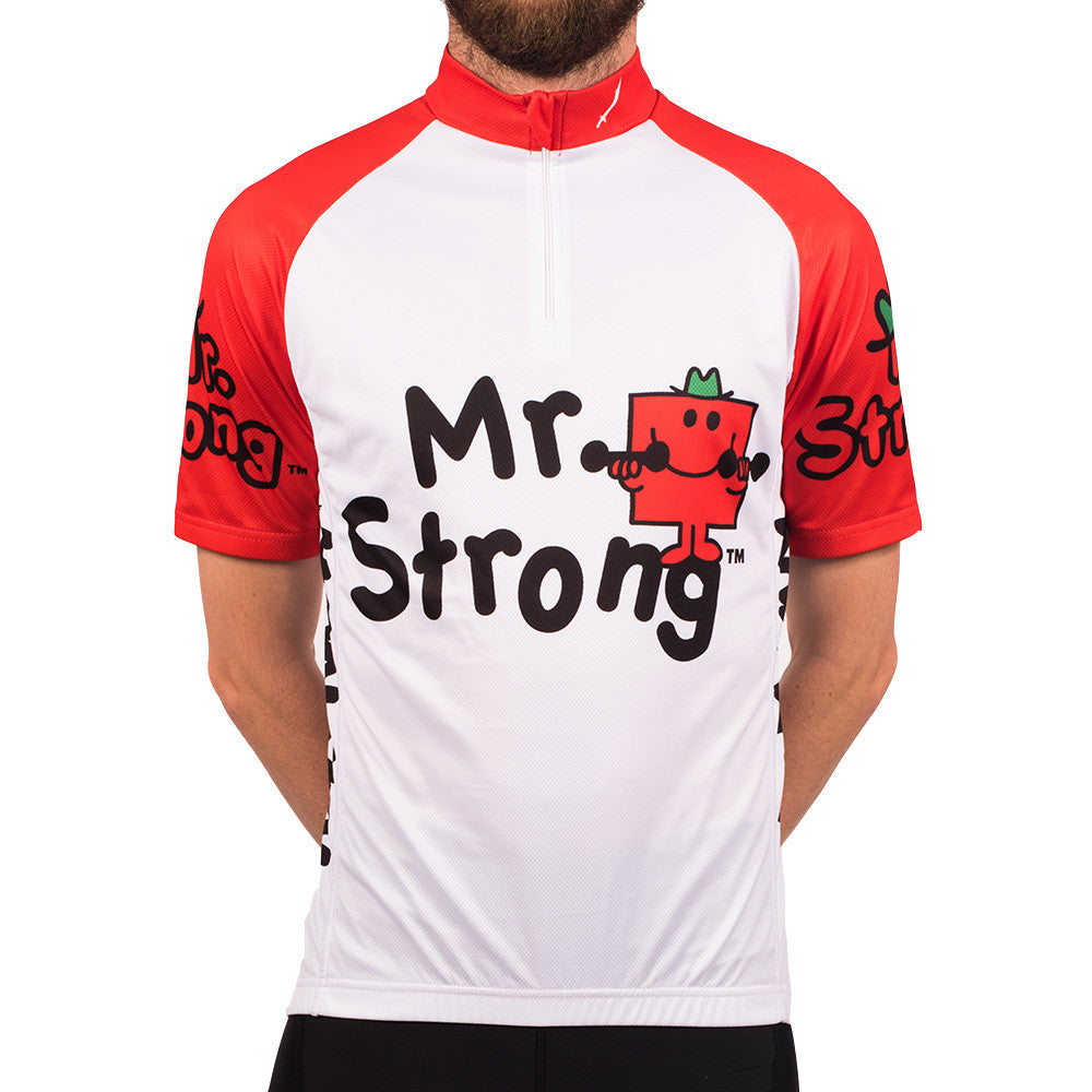 Mr Strong Cycling Jersey