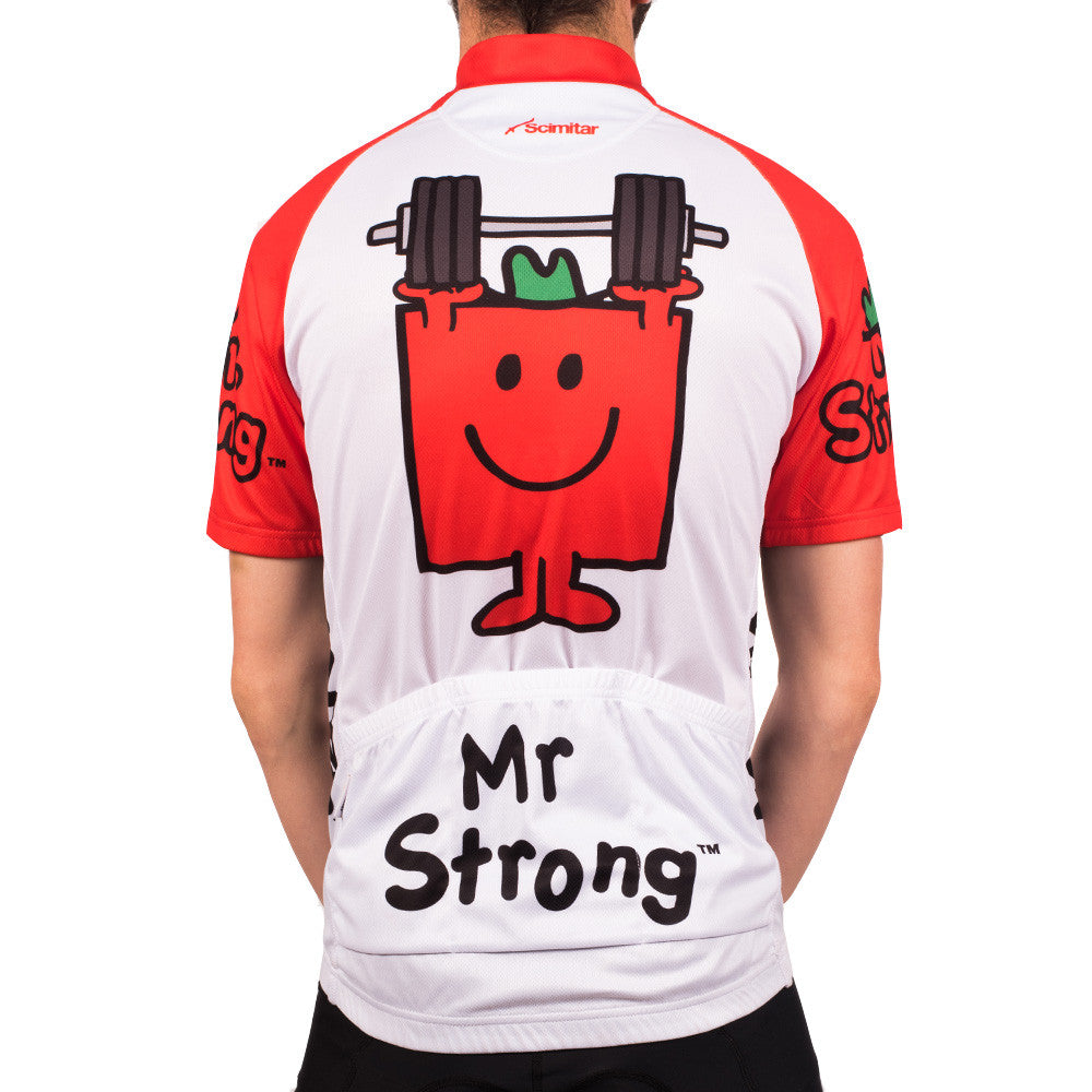 Mr Strong Men's Cycling Jersey